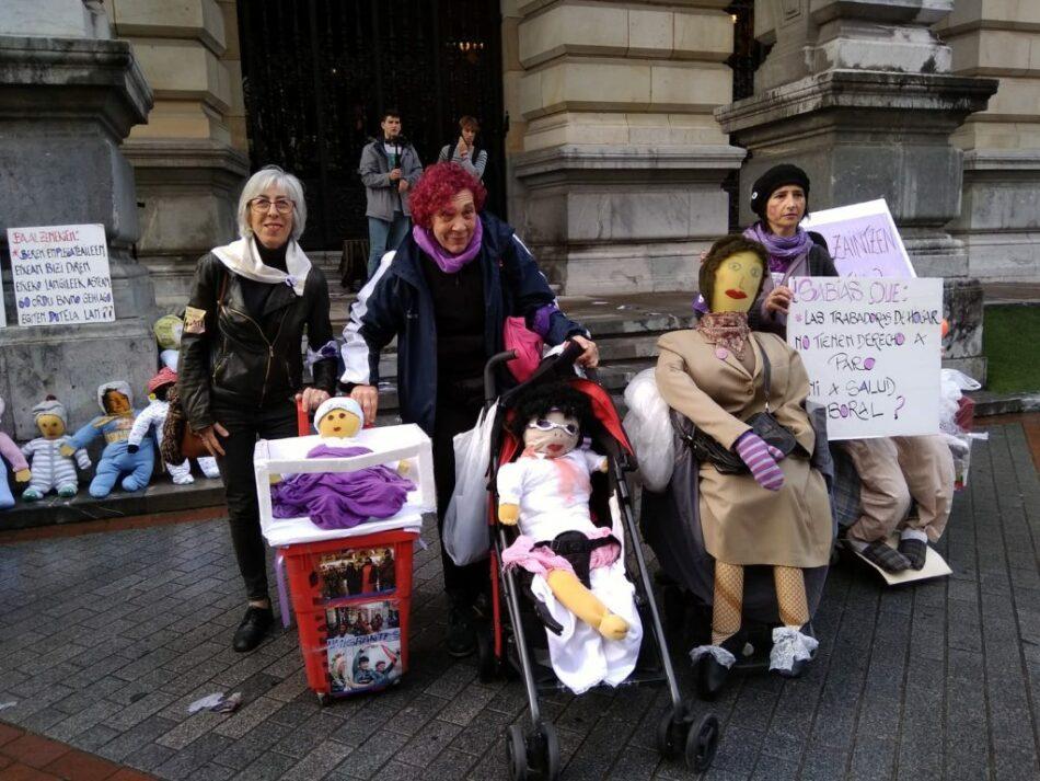 La Confederación Nacional del Trabajo (CNT) considera que la segunda Huelga General Feminista Internacional está resultando todo un éxito de participación