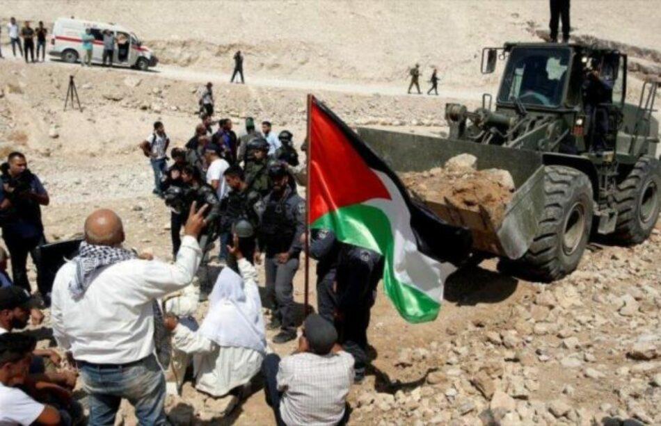 Israel ha emitido 1150 órdenes para confiscar tierras palestinas