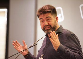 IU presenta a Carlos Sánchez Mato como su cabeza de lista a las elecciones muncipales