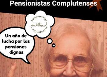 Pensionistas Complutenses cumple un año de vida en la lucha por la defensa del Sistema Público de Pensiones en Alcalá de Henares