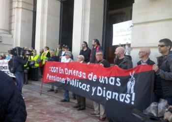 CGT llama a defender en la calle el Sistema Público de Pensiones