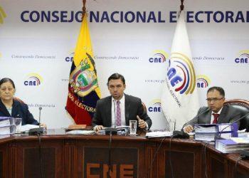 Ecuador: no al fraude del Consejo Nacional Electoral