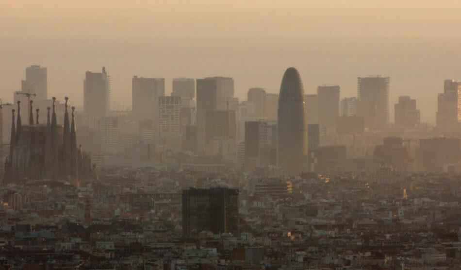 Las partículas se enquistan en las ciudades del Mediterráneo