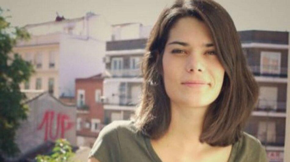 Isabel Serra: Podemos era una organización «masculinizada», pero «en los últimos tres años» ha «avanzado mucho»