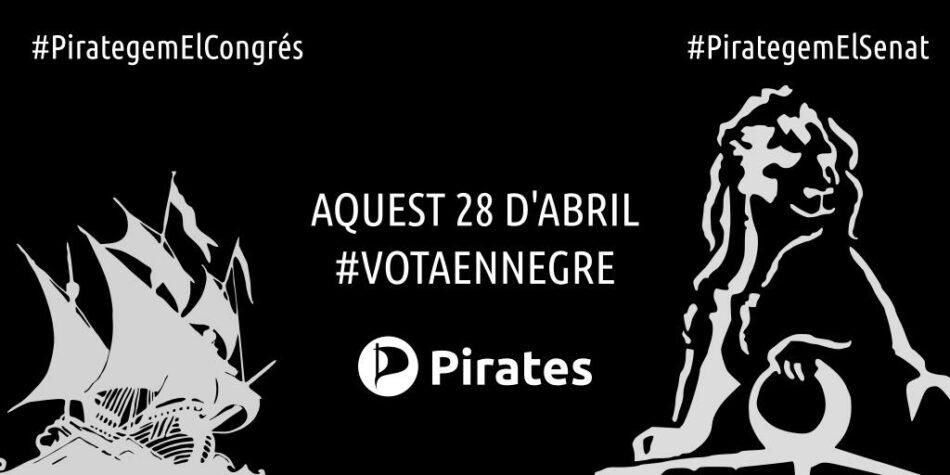 Pirates de Catalunya, sobre la decisión de la CUP de no participar en las elecciones del 28A