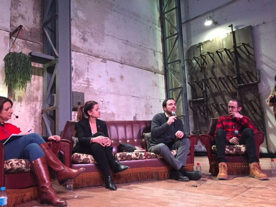 """Garzón adelanta que IU está decidida a hacer la """"mejor campaña"""" para """"atraer el voto de izquierdas y de la gente que cree en una España con futuro y con derechos sociales"""""""