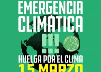 Comunicado de apoyo a la huelga climática del 15 de marzo