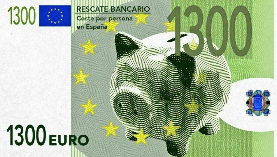 Podemos Andalucía pedirá la devolución del rescate bancario a través de un impuesto a los beneficios de los bancos