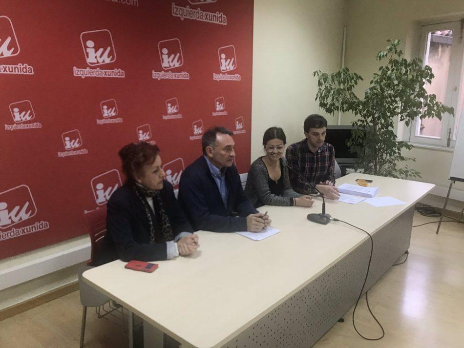 """Enrique Santiago considera que más presencia de IU en todas las instituciones será una """"garantía"""" a la hora de conseguir políticas para la vida digna de todas las personas"""