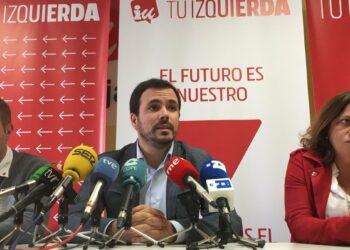 """Garzón llama a los """"votantes de izquierda"""" y a la """"bolsa de indecisos"""" a que confíen en Unidas Podemos e IU porque es el """"único voto útil"""" para desarrollar """"medidas de protección social"""""""