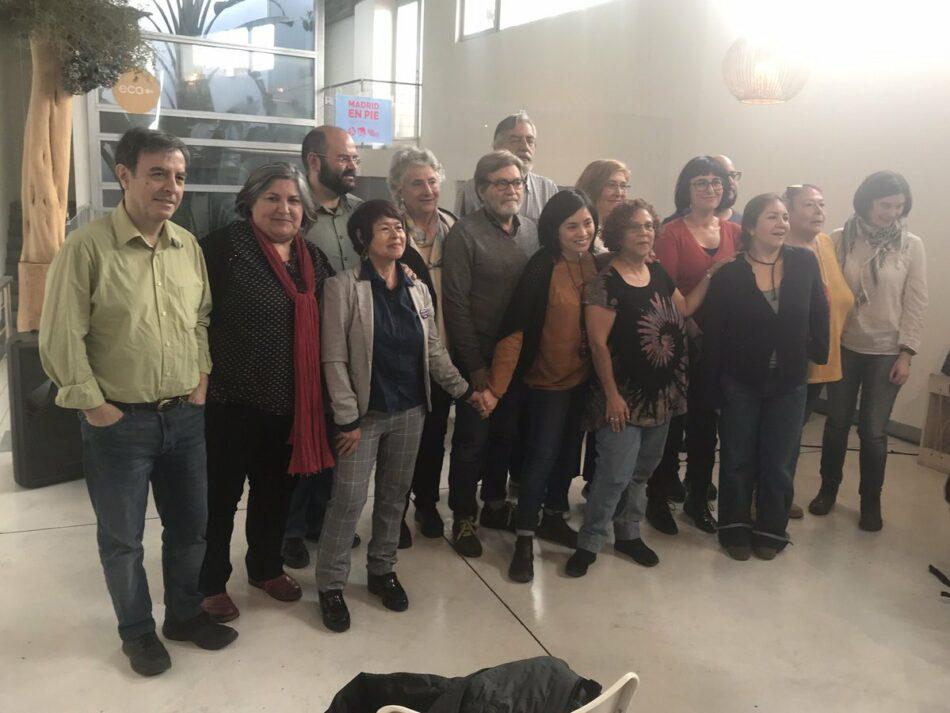 Comunicado de Ganemos Madrid en apoyo de la candidatura municipalista «Madrid en Pie»