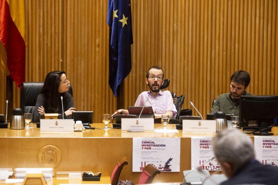 Podemos contra la fuga de cerebros de España