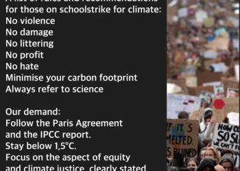 Estudiantes de todo el planeta reclaman afrontar la emergencia climática