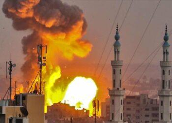 Cazas israelíes renuevan los bombardeos contra la Franja de Gaza