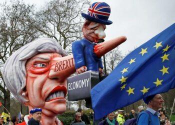 Masiva manifestación en Londres para reclamar un nuevo referendum sobre el Brexit