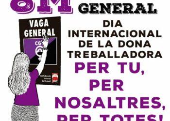 La CGT de Barcelona, convocada para negociar los servicios mínimos durante la huelga feminista del 8M con la Generalitat