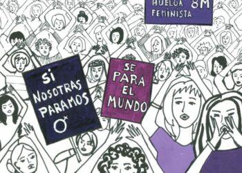 EQUO Andalucía llama a la movilización feminista y anima a secundar la huelga de 24 horas