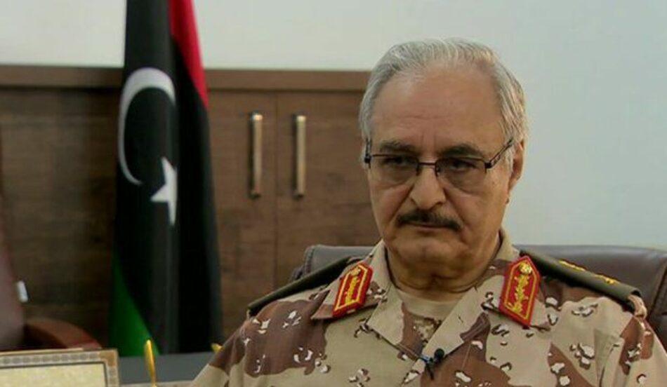Libia: Las fuerzas del general Haftar quieren tomar Trípoli