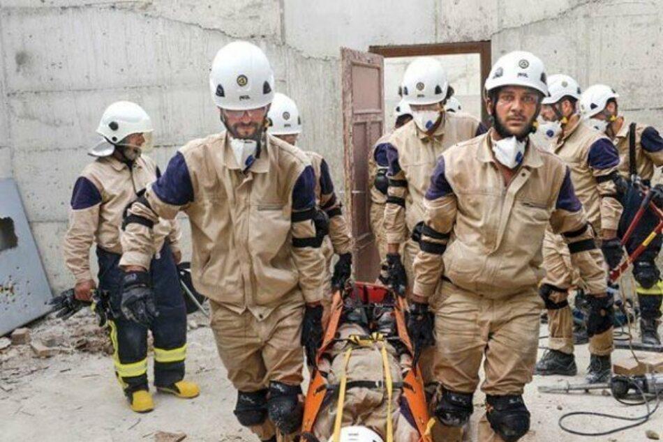 EEUU concede 5 millones de dólares a los Cascos Blancos para sus operaciones en el norte de Siria