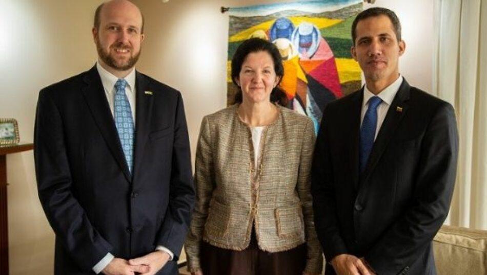 ¿Quién es Kimberly Breier, la alta funcionaria de EEUU que acompaña a Guaidó en todos sus viajes?
