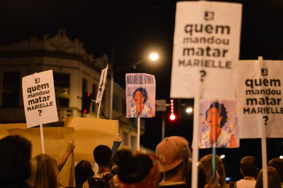 Miles de personas en Brasil y en el mundo piden justicia en el caso Marielle