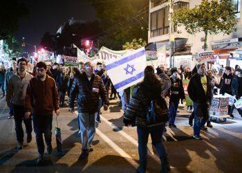Manifestaciones en Israel para exigir la dimisión de Netanyahu