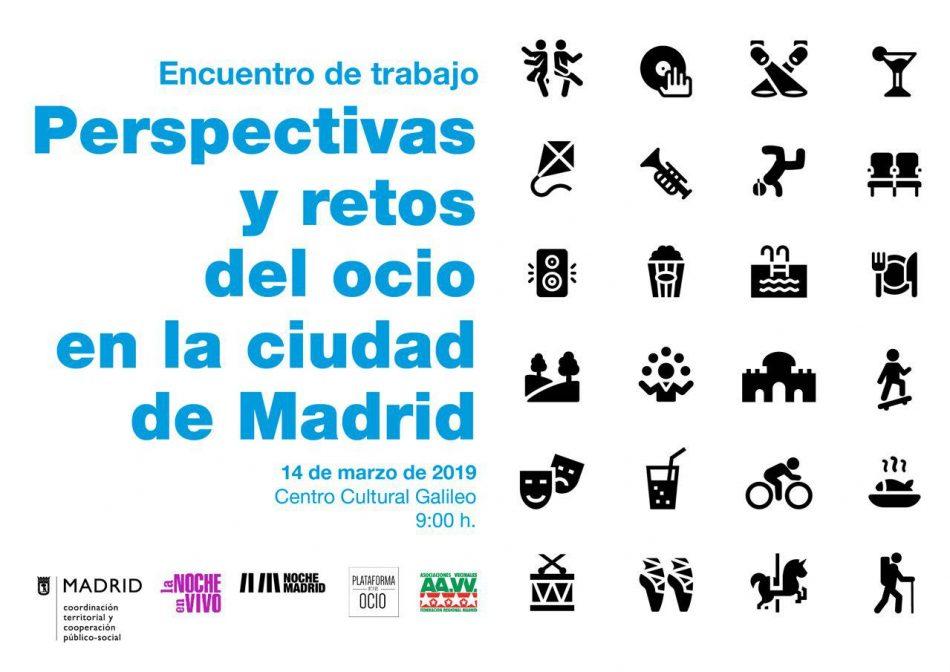 """Jornada """"Perspectivas y retos del ocio en la ciudad de Madrid"""""""