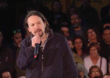 Pablo Iglesias endurece su discurso en su reaparición