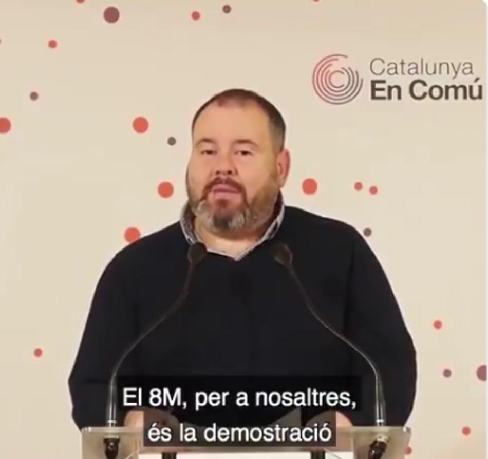 """Mena: """"Hi ha dos projectes pel 28A: anar a Madrid a fer política o renunciar-hi, com ha fet Puigdemont"""""""