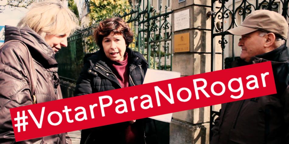IU Exterior llama a la emigración a rogar el voto con #VotarParaNoRogar