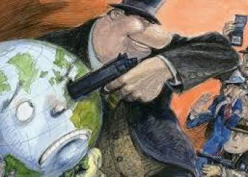 Una curva cada vez más larga, pero más baja de la economía global