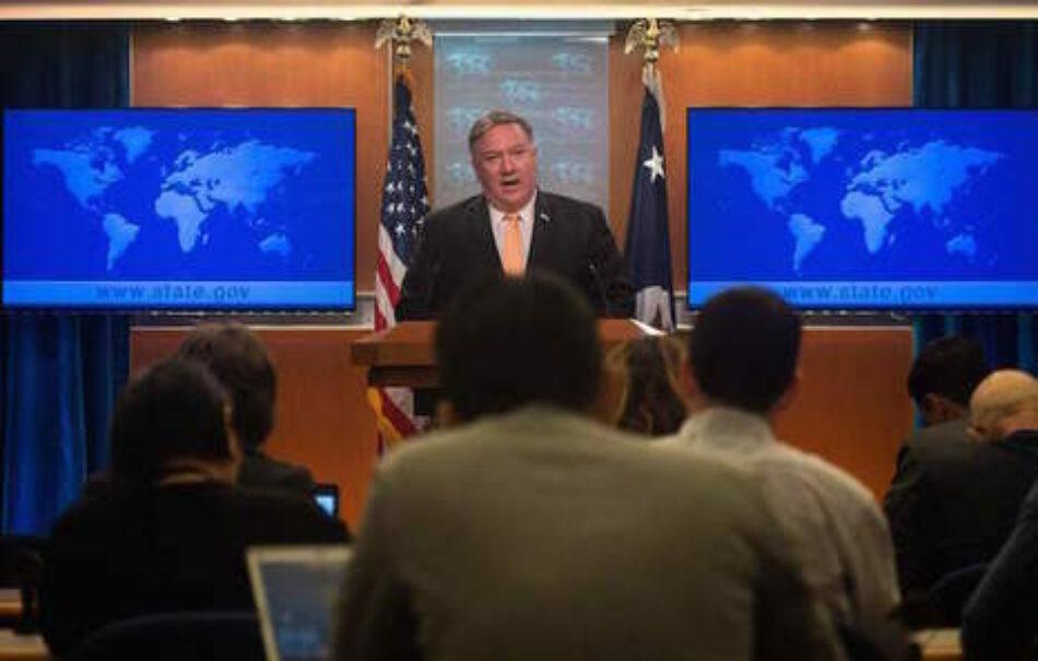 EE.UU. quiere asfixiar económicamente a Irán poniendo fin a las exenciones para la compra de su petróleo