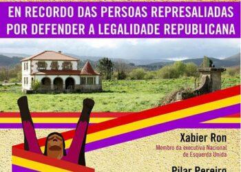 Esquerda Unida Compostela e o PCG levarán a cabo un acto en recordo das persoas represaliadas por defender a legalidade republicana