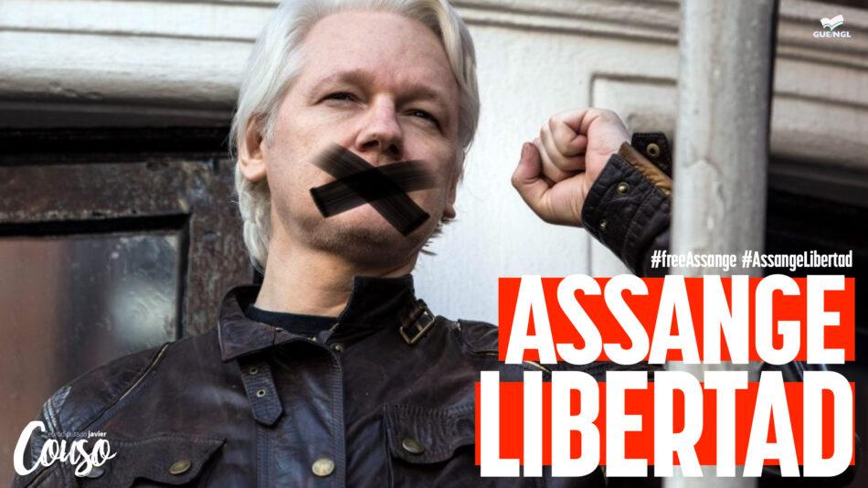 Javier Couso exige que se respete la integridad física y los derechos fundamentales de Julian Assange