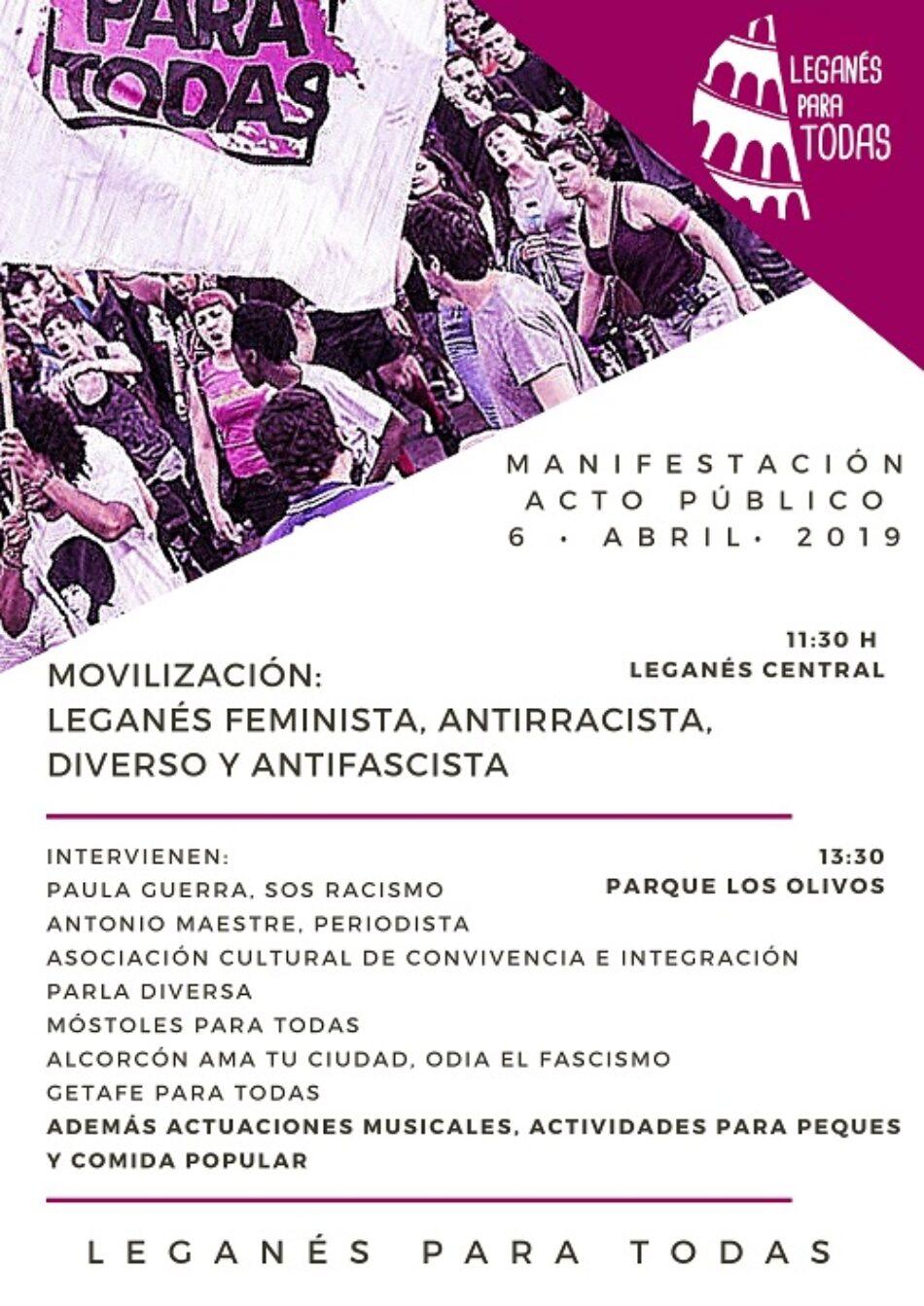 6 de abril: Manifestación y eventazo «Por la convivencia y la diversidad»