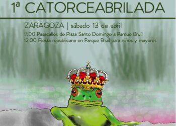 Diversas organizaciones convocan, en Zaragoza, la I Catorceabrilada