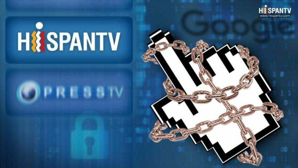 El miedo a la libertad de información: Google censura a Hispantv