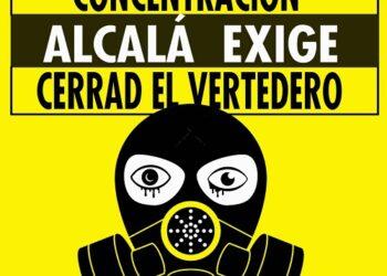 Las asociaciones vecinales de Alcalá se manifiestan hoy para exigir el cierre del vertedero