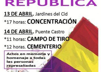 """El PCE de León apoya los actos por el 14 de abril, día de la República, reclamando que """"para una vida digna, es tiempo de República"""""""