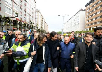 Iglesias avisa a españoles que extrema derecha llega para quedarse