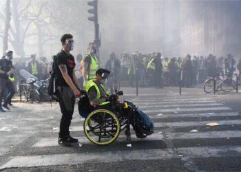 Segundo «ultimatum» a los «chalecos amarillos» para exigir la renuncia del presidente neoliberal Macron