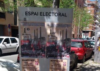 Convocada la manifestación del 1 de Mayo en Barcelona: «¡Ahora más que nunca! Más organización y más lucha en la calle»