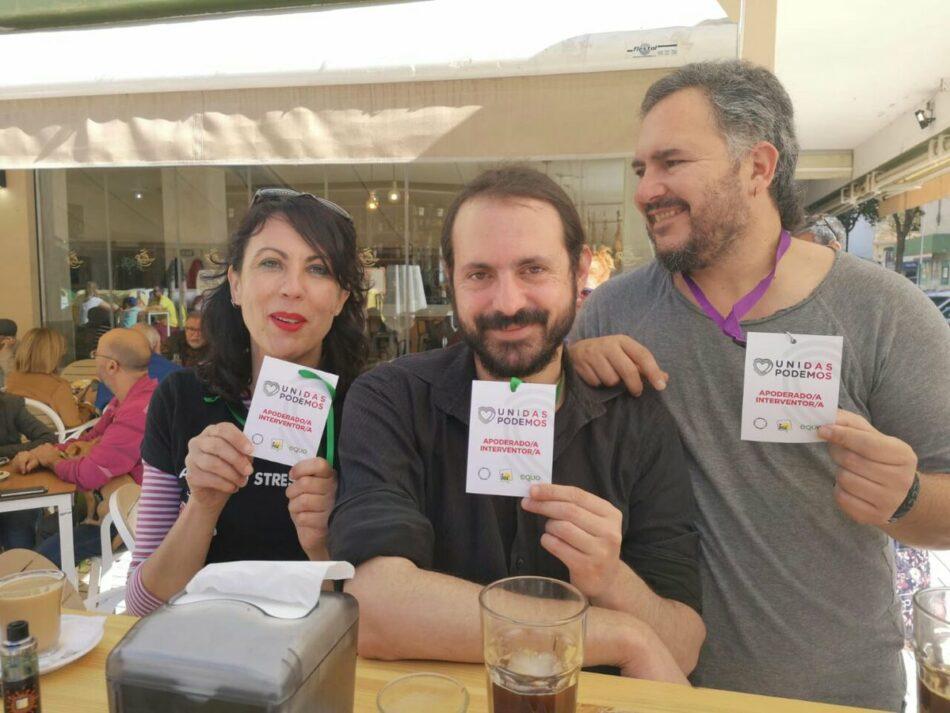 """García Sempere, """"satisfecha"""" por el resultado conseguido por Unidas Podemos en Málaga y """"porque los números no le dan a la derecha"""""""