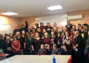"""La Red Europa Zapatista se reúne en Madrid para mostrar su apoyo al EZLN, CNI y CIG al grito de """"¡No están solos!"""""""