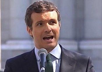 Pablo Casado borra el Sáhara Occidental del programa electoral del PP