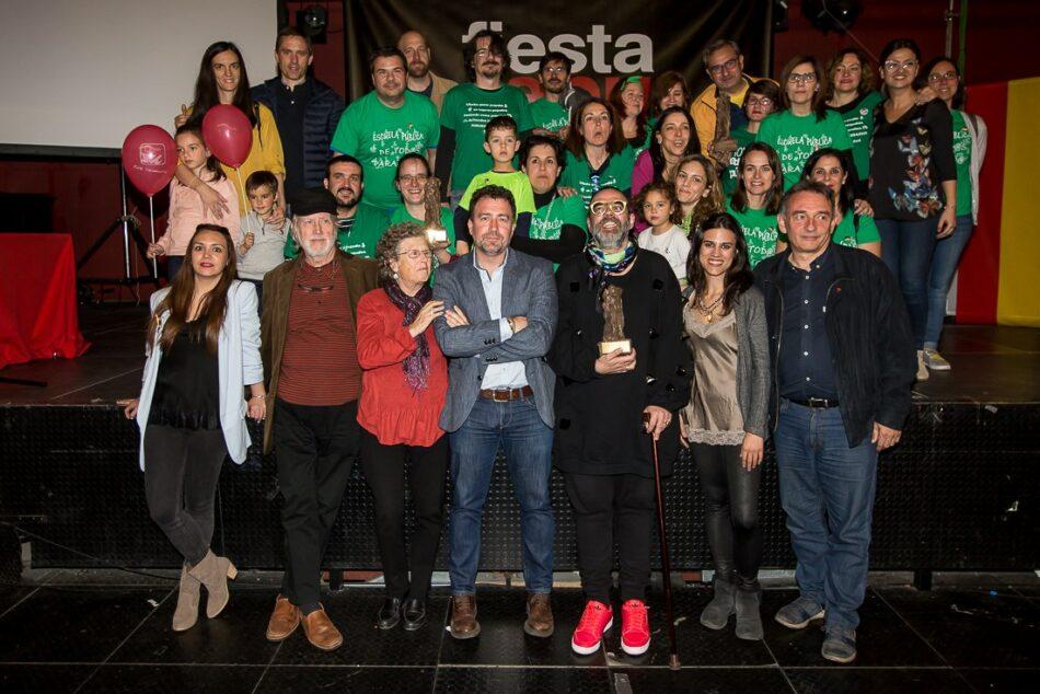 Izquierda Unida Rivas Vaciamadrid entrega los X Premios 14 de abril en una concurrida fiesta republicana de reivindicación y alegría