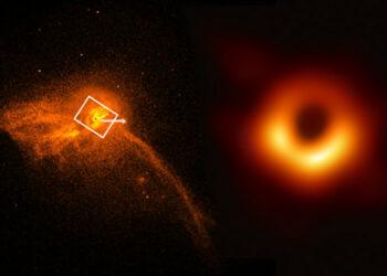Guía sencilla para entender la foto del agujero negro