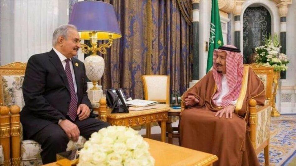 La ofensiva militar de Haftar en Libia estuvo financiada por Arabia Saudí