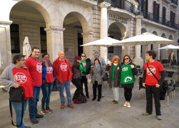 Denuncian en Santander la «grave situación provocada por Liberbank y sus sociedades instrumentales»