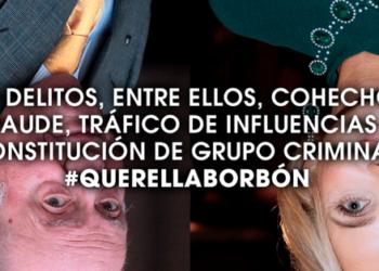 """Los firmantes de la 'Querella Borbón' anuncian que """"recurriremos ante el propio Supremo y luego hasta donde haga falta"""" el auto de archivo hecho público hoy"""